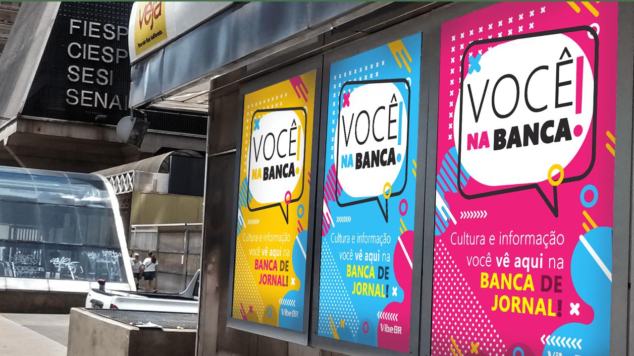 Branded Content na Banca de Jornal